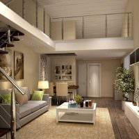 идея красивого стиля гостиной в частном доме картинка