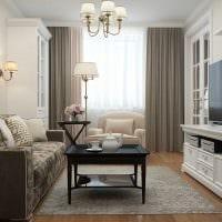 идея яркого декора квартиры в стиле современная классика картинка