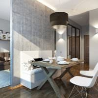 вариант красивого дизайна квартиры 65 кв.м фото