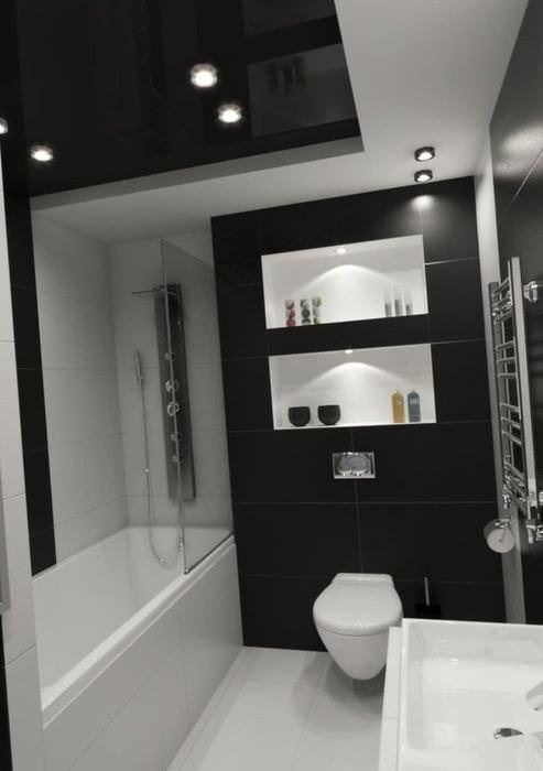 пример светлого дизайна ванной 5 кв.м