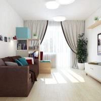 идея красивого дизайна квартиры 70 кв.м фото