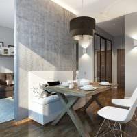 идея необычного стиля квартиры 70 кв.м фото