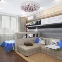 пример красивого интерьера гостиной 16 кв.м фото