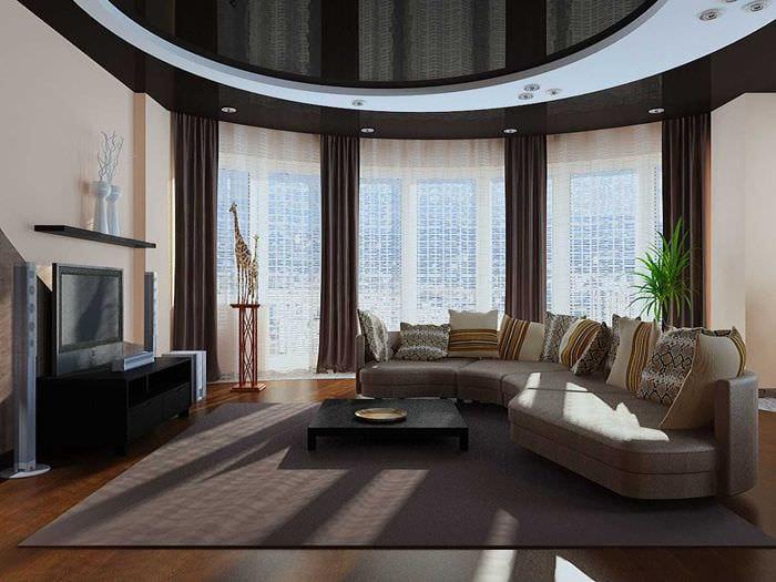75 интересных идей дизайна гостиной комнаты с эркеом
