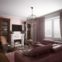 вариант светлого стиля квартиры 70 кв.м фото