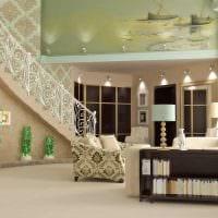 вариант современного стиля квартиры со вторым светом картинка