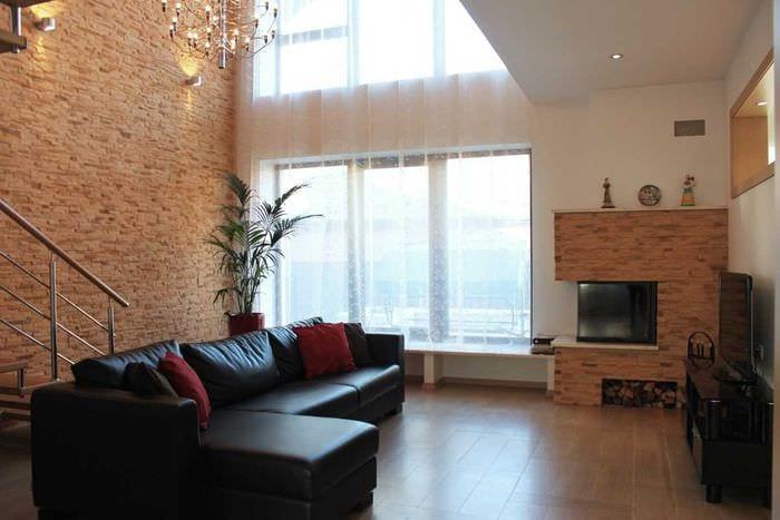 идея современного стиля квартиры со вторым светом