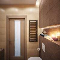 идея необычного дизайна ванной комнаты 4 кв.м картинка