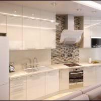 идея красивого интерьера комнаты в светлых тонах в современном стиле фото