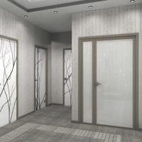 вариант необычного интерьера современной квартиры 65 кв.м фото