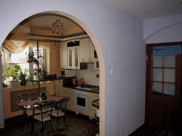 вариант светлого декора квартиры 65 кв.м