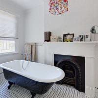 идея необычного интерьера ванной 2017 картинка