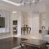 идея красивого дизайна комнаты в стиле современная классика картинка