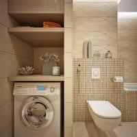 вариант необычного интерьера ванной комнаты 2.5 кв.м фото
