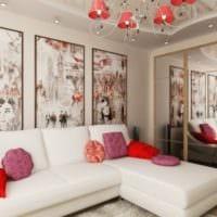 дизайн гостиной 18 кв метров