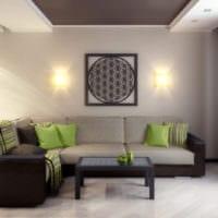 дизайн гостиной 18 квадратных метров идеи фото