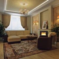 дизайн гостиной 18 квадратных метров удобный