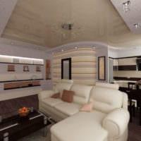 дизайн гостиной 18 квадратных метров в фото