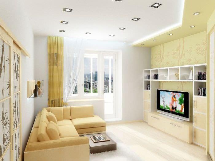 дизайн интерьера гостиной 18 квадратов