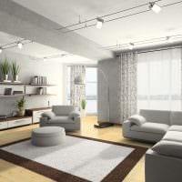 идея яркого сочетания бежевого цвета в декоре квартиры картинка
