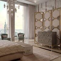 вариант необычного сочетания бежевого цвета в дизайне квартиры фото