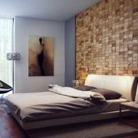 вариант применения необычного бежевого цвета в дизайне дома