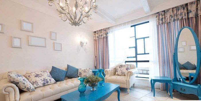 идея использования светового дизайна в красивом декоре квартиры