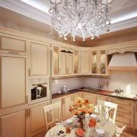 вариант применения светового дизайна в необычном стиле квартиры фото