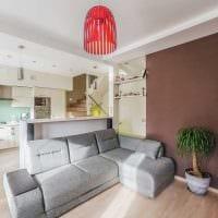 идея использования светового дизайна в красивом стиле дома фото