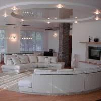 идея применения светового дизайна в красивом декоре дома картинка