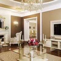 вариант применения светового дизайна в ярком декоре дома фото