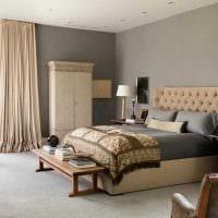 идея использования яркого бежевого цвета в дизайне квартиры