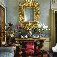 идея яркого интерьера квартиры в романском стиле картинка
