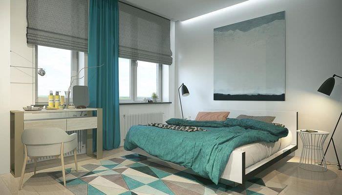 вариант необычного стиля квартиры в скандинавском стиле