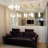 идея светлого декора маленькой комнаты фото