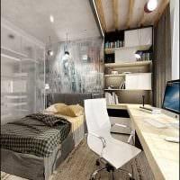 вариант необычного стиля спальни для молодого человека картинка