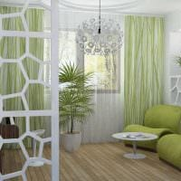 вариант светлого стиля спальни картинка