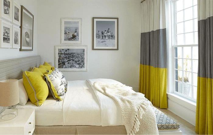 идея красивого дизайна двухкомнатной квартиры в хрущевке