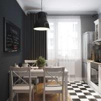 пример светлого дизайна кухни 14 кв.м картинка