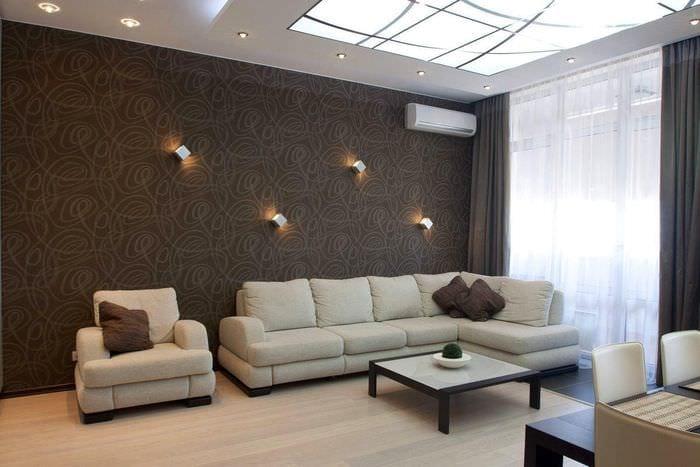 идея красивого дизайна спальни