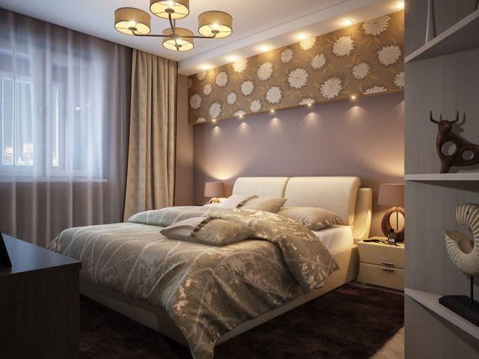 вариант красивого дизайна маленькой комнаты