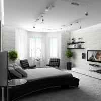 идея светлого декора спальни для молодого человека картинка