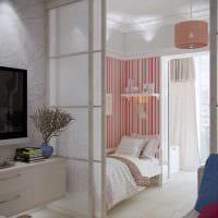 вариант красивого интерьера детской комнаты 18 кв.м. фото