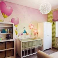 идея светлого дизайна комнаты для девочки 12 кв.м картинка