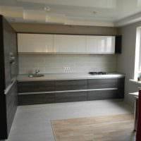 идея красивого стиля кухни 14 кв.м картинка