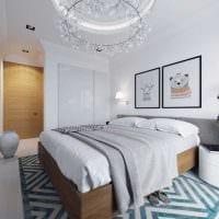 вариант яркого декора комнаты в скандинавском стиле фото
