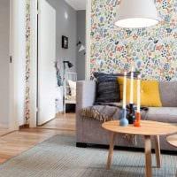 вариант светлого дизайна квартиры в скандинавском стиле фото