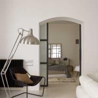 идея необычного дизайна спальной комнаты 18 кв.м. картинка