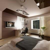 идея яркого дизайна спальни для девочки в современном стиле фото