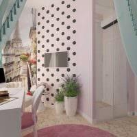 идея необычного дизайна детской комнаты для девочки 12 кв.м картинка